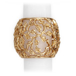 Lorel Gold Napkin Rings, Four
