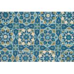 Francesca FC-55 Blue/Yellow Rugs