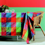 Mille Couleurs Epicea Tablecloth Rect 71 x 98 in