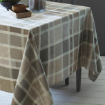 Mille Ladies Argile Coated Stain-Resistant Table Linens