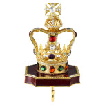 Coronation Crown Stocking Holder