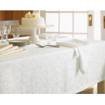 Orchard Tablecloth 120 in round Ivory - Ivory