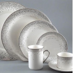 Kelly Wearstler Trousdale Platinum Dinnerware