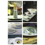 Thomas Keller Raynaud Hommage Point Handcrafted Limoges Dinnerware   Gracious Style