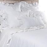 Charlie White Bed Linens