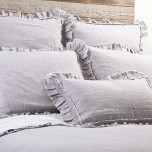 Mathilde Silver Bed Linens