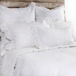Mathilde White Bed Linens