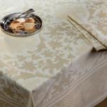 Toscane Champagne Print Table Linens