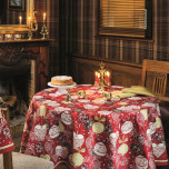 Christmas Red Table Linens