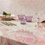Ceylan Rose Print Table Linens