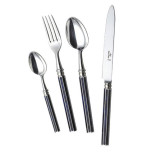 Royal Blue Silverplate Flatware