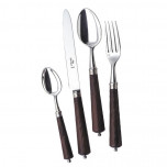 Rustique Rosewood Silverplate Flatware