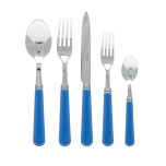 Basic Cerulean Blue Flatware