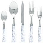 Zebra Grey Flatware