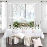 Cartlin - Set Of Four Dinner Napkins 22x22 | Gracious Style