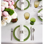 Juliet Stain-Repellent Table Linens | Gracious Style