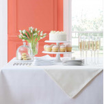 Harrow Easy Care Tablecloths - Custom Sizes | Gracious Style