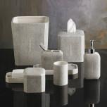Shagreen Grey Bath Accessories