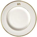 Signature Monogram Gold Dinnerware | Gracious Style