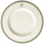 Signature Monogram Green Dinnerware | Gracious Style