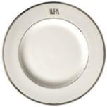 Signature Monogram Platinum Dinnerware | Gracious Style