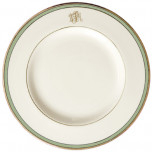 Signature Monogram Green Dinnerware | Gracious Style