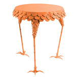 Henny Penny Side Table Pumpkin Blush