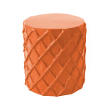 Net Stool Pumpkin Blush