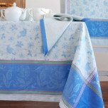 Birds Blue Table Linens