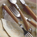 Toursade Wood Flatware by Mariposa | Gracious Style