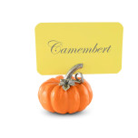 Pumpkin Place Card Holder 2 in. T