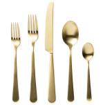 Moda Matte Gold Flatware | Gracious Style