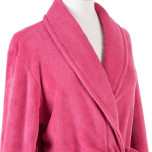 Sheepy Fleece Fuchsia Robe One Size
