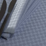 Illusion Grey Napkin Square 16.5 in