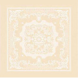 Beauregard Ivory Napkin Square 22 in