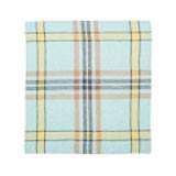 """Bonnie Brae Linen Tea Towel 27x27"""" Aqua"""
