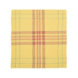 "Bonnie Brae Linen Tea Towel 27x27"" Lemon yellow"