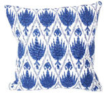 Casablanca Midnight With Eyelash Trim Pillow 20 X 20 In