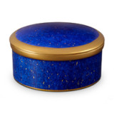 Lapis Round Box 5.5 x 2.5 in