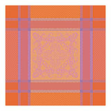 Nymphee Peche Rosee Napkin Square 21 in