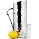 Helyx Water Pitcher w/Knot 12 in