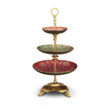 Fortuny 3-Tier Server 11 x 20 in
