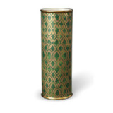 Fortuny Vase Large Peruviano Green 4.5 x 12 in