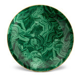 Malachite Round Platter