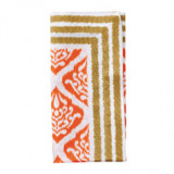 Ethnic Ikat Orange/Brown Napkins
