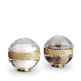 Braid Gold Salt & Pepper Shakers