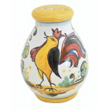 Tuscan Rooster Cheese Shaker 4.25 in h, 3.25 in d