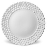 Aegean Sculpted White Dinnerware