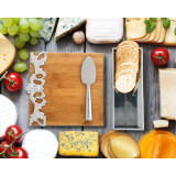 Acanthus Bamboo Board Cheese Set