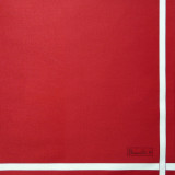 Two-Colored Napkin Scarlet Red/White Color 41